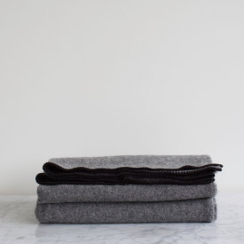 Army Grey Wool Blanket - Amana Shops