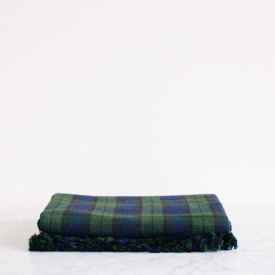 Blackwatch Tartan Cotton Throw