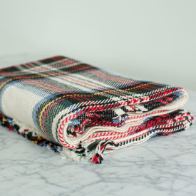 Dress Stewart Tartan Cotton Throw