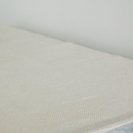 Chevron Bed Blanket - Natural
