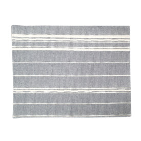 Amana Weave Placemat Navy/Natural