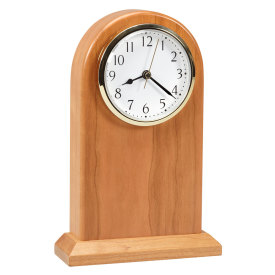 Large Arched Desk Clock