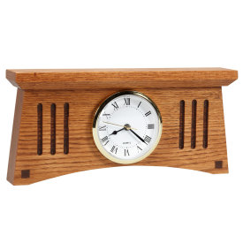 Amana Craftsman Desk Clock