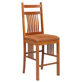 Amana Mission Slat Back Counter Stool