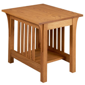 Amana Mission End Table