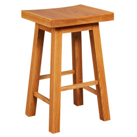 Amana Saddle Seat Counter Height Stool