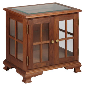 Amana Bracket Base Display End Table