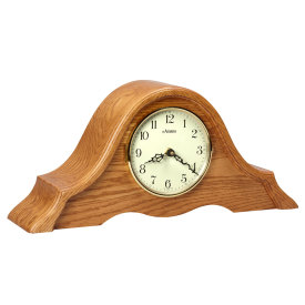 Amana Tambour Quartz Mantle Clock