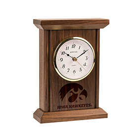 Hawkeye Highboy Clock