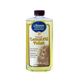 Amana Lemon Oil Plish