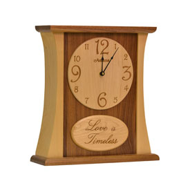 Amana Love Is Timeless Arched Clock