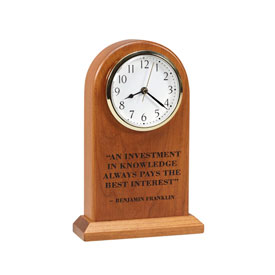 Amana Large Arched Clock - Investment
