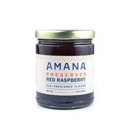 Amana Red Raspberry Preserves 11 oz.