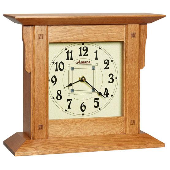 Amana Prairie Mantel Clock