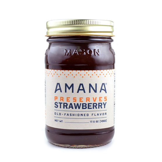 Amana Strawberry Preserves