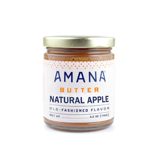 Amana Natural Apple Butter 9.5 oz.