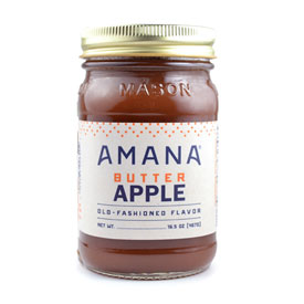 Amana Apple Butter 16.5 oz.
