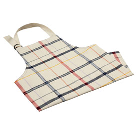 Chef Apron - Window Pane Multi Colors
