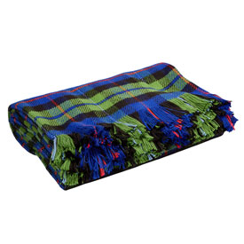 Campbell Plaid Cotton Throw