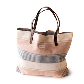 Amana Native Tote - Orange