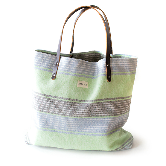 Amana Native Tote - Green