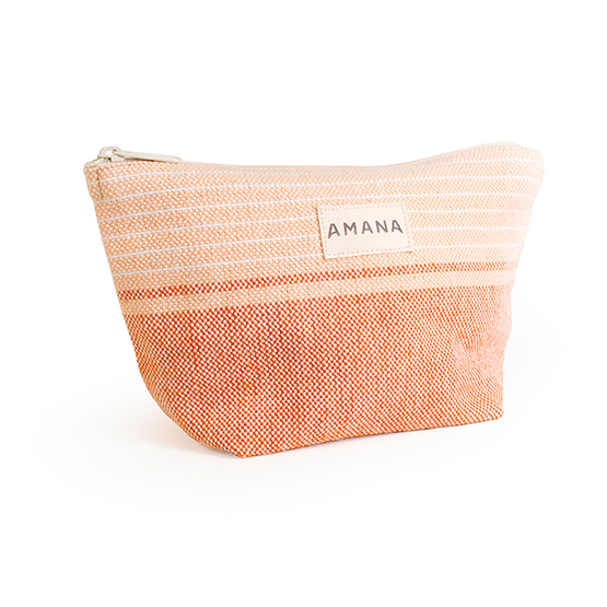 Amana Native Cosmetic Bag - Orange