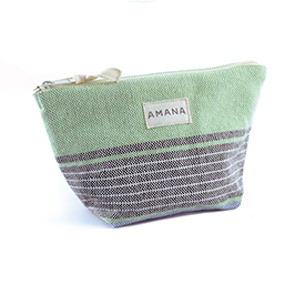 Amana Native Cosmetic Bag - Green