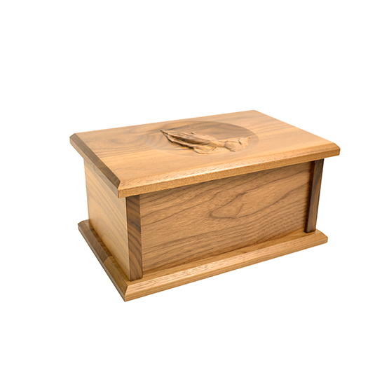 Amana Legacy Urn With Praying Hands - Large