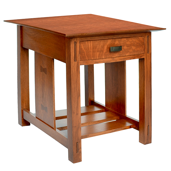 Amana Prairie End Table