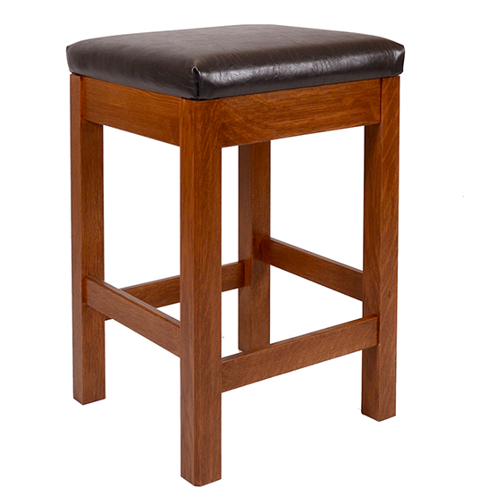 Mission Square Stool