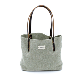 ECO2 Small Tote - Solid Sage