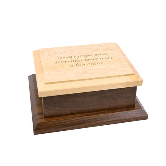 Amana Small Keepsake Box Engraved - Today's Preparation