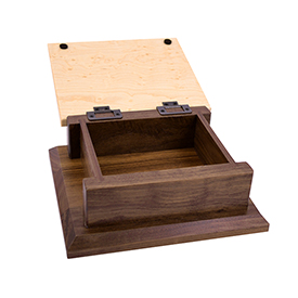 Amana Small Keepsake Box Engraved - Perfect Mother