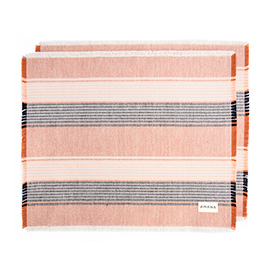Causal Cotton Placemats Native Orange - Set of 2