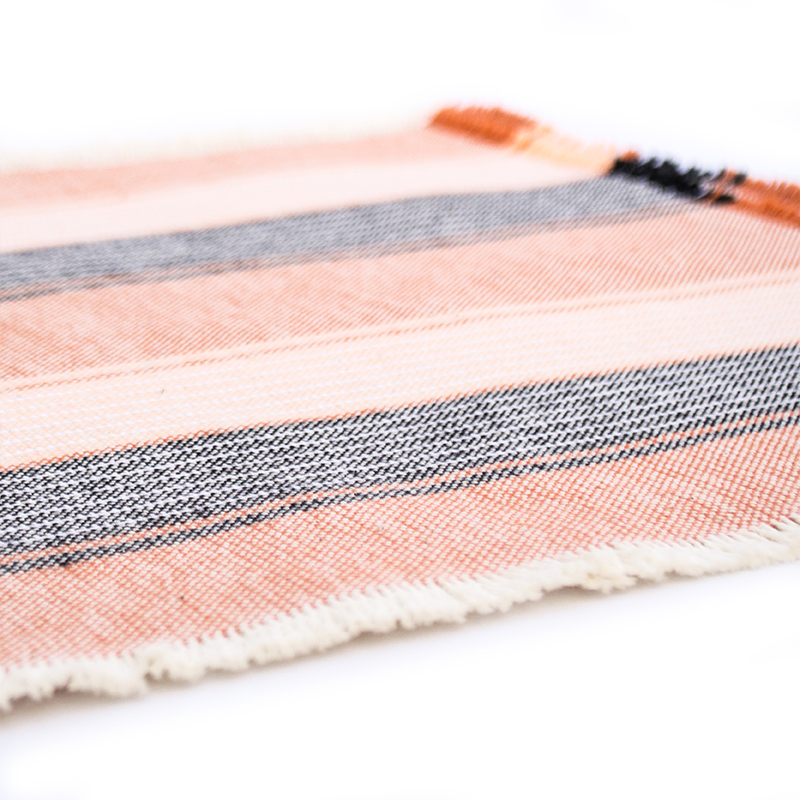 Casual Cotton Placemats In Orange Amana Woolen Mill
