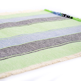 Casual Cotton Placemats Native Green - Set of 2