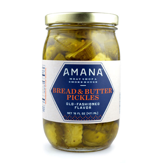 Amana Bread & Butter Pickles