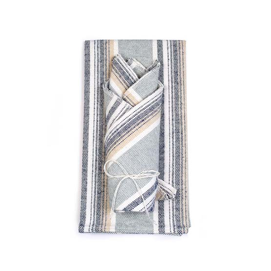 Native Tea Towel & Dish Cloth Set - Pewter