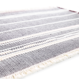 Casual Placemat Amana Weave Navy/Natural - set of 2