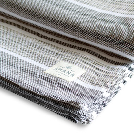 Tailrace Bed Blanket - Grey