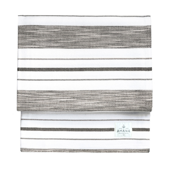 Tailrace Bed Blanket - Bleach White/Space-Dyed Grey