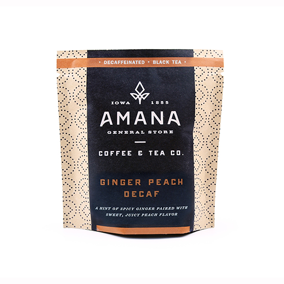 Ginger Peach Decaf Tea