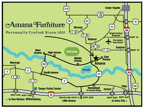 Furniture Shop Map
