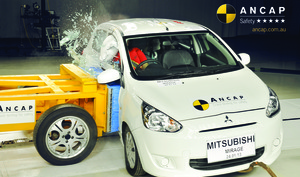 Mitsubishi Mirage | 5 Star ANCAP Safety Rating