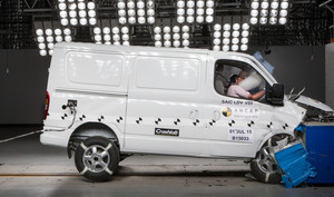LDV V80 | 3 Star ANCAP Safety Rating