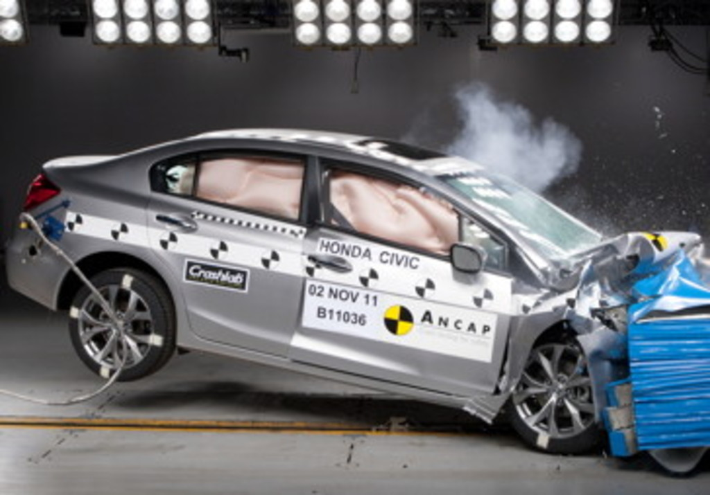 New Civic and Veloster set highest safety standard