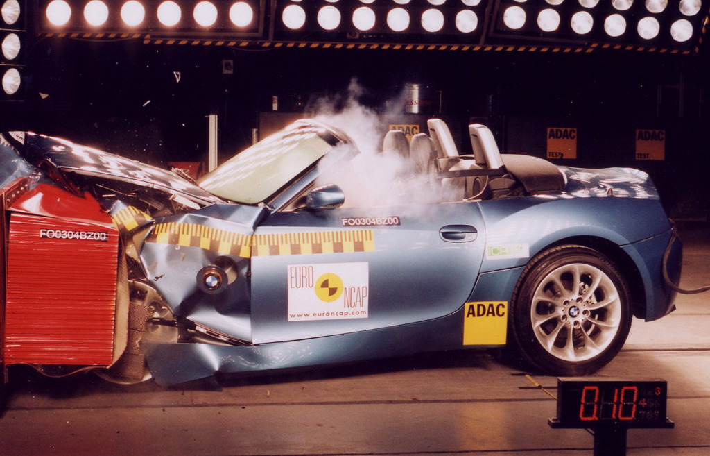 Bmw Z4 Jul 2003 Mar 2009 Crash Test Results Ancap
