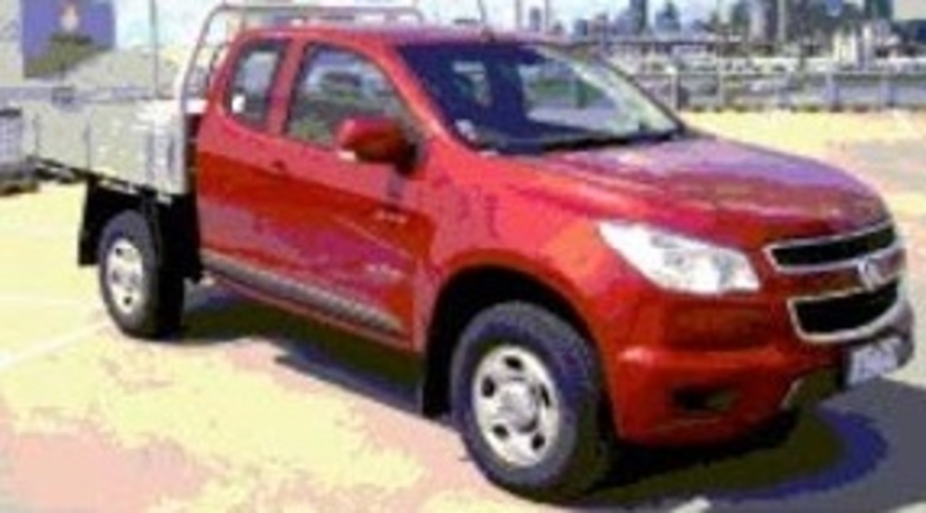 Holden Colorado | 4 Star ANCAP Safety Rating