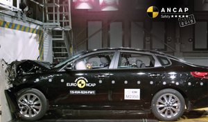 Kia Optima | 5 Star ANCAP Safety Rating