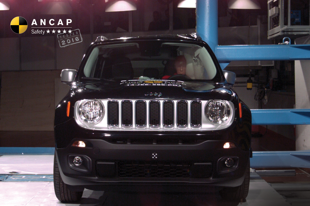 jeep renegade may 2016 onwards crash test results ancap. Black Bedroom Furniture Sets. Home Design Ideas